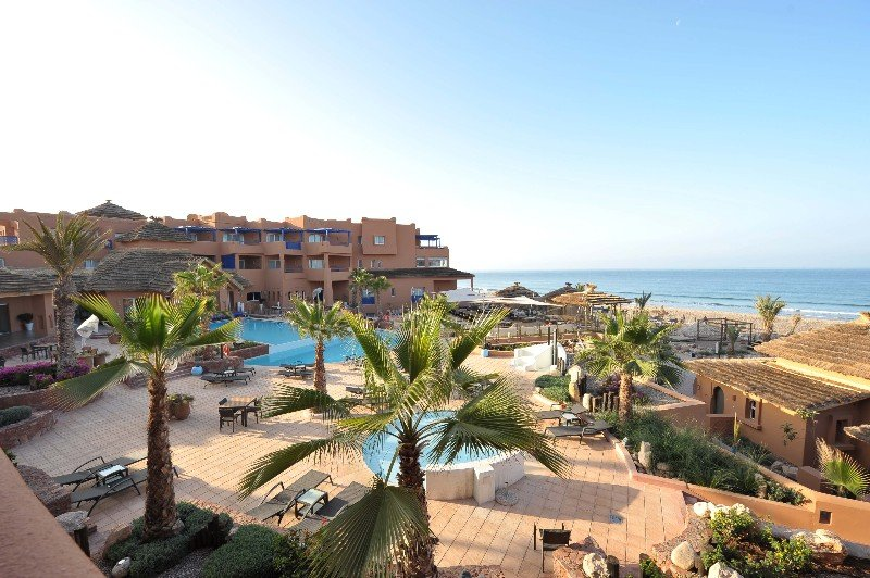 Paradis Plage Surf Yoga & Spa Resort in Agadir, Morocco