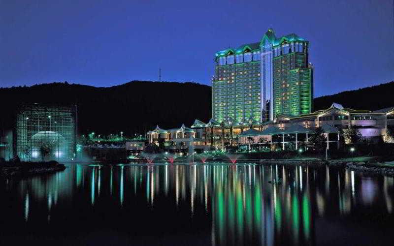 Kangwonland Hotel in Pyeongchang, South Korea