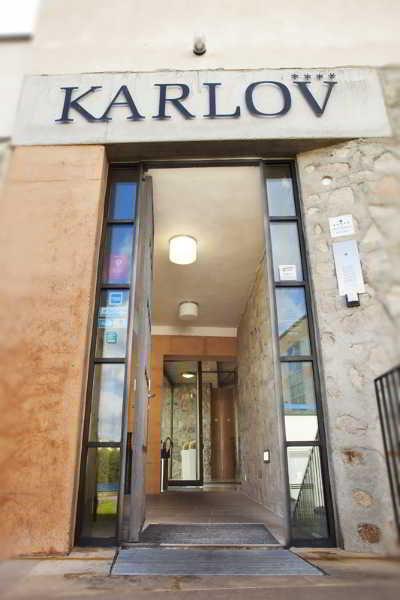Bellevue Hotel Karlov in Benesov, Czech Republic