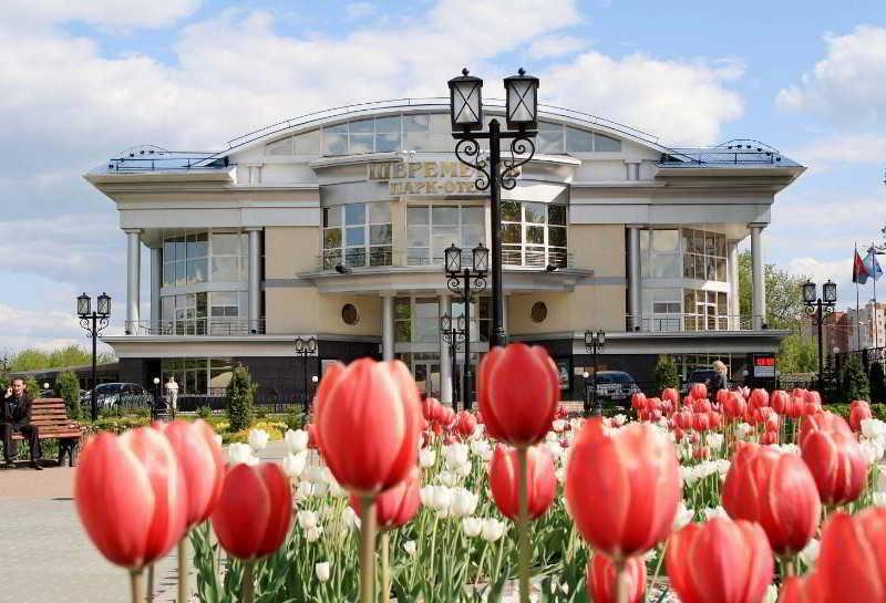 Sheremetev Park in Ivanovo, Russia