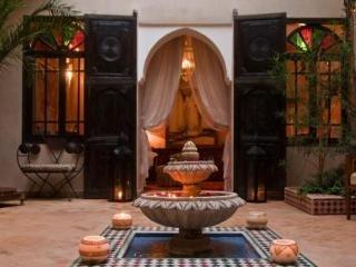 Riad Saba in Marrakech, Morocco