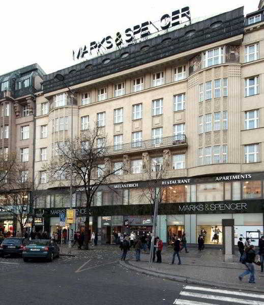 Capital Apartments Wenceslas Square in Prague, Czech Republic