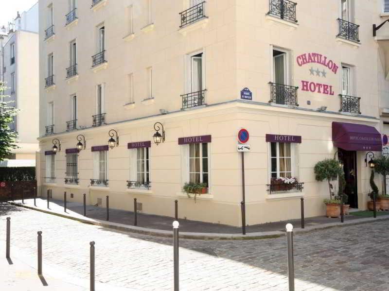 Hotel Chatillon Montparnasse Paris