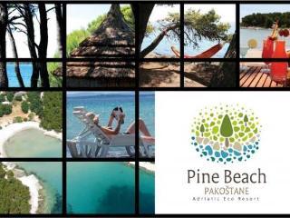 Pine Beach Pakoštane Adriatic in Dubrovnik, Croatia