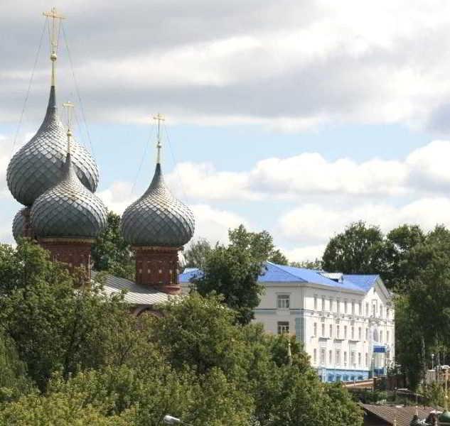Snegurochka in Kostroma, Russia