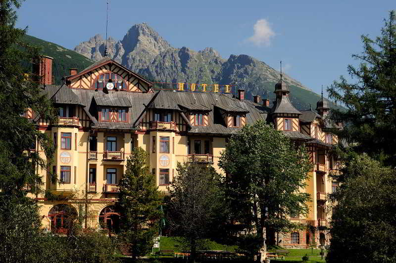 Grandhotel Stary Smokovec in Tatras, Slovakia