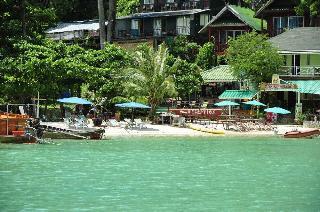 Phi Beach Front Resort Lodgings In Laem