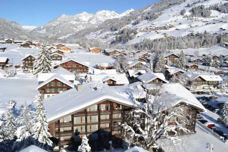 Relais du Silence Hotel Kreuz Lenk in Swiss Alps, Switzerland