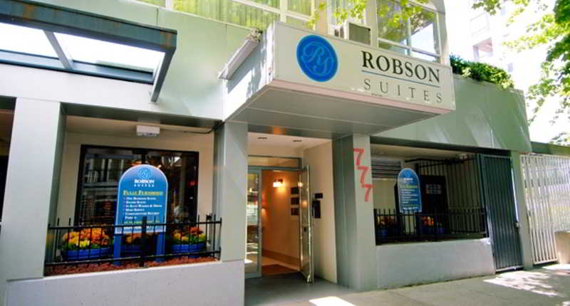 Robson Suites hotel,  Vancouver, Canada. The photo picture quality can be variable. We apologize if the quality is of an unacceptable level.