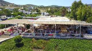 Soros Beach in Paros, Greece