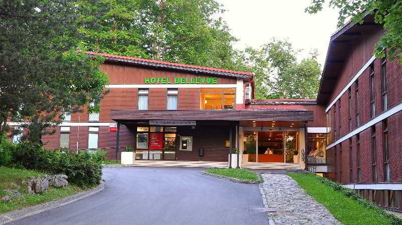 Hotel Bellevue in Kvarner Bay, Croatia