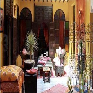 Riad Sacr in Marrakech, Morocco