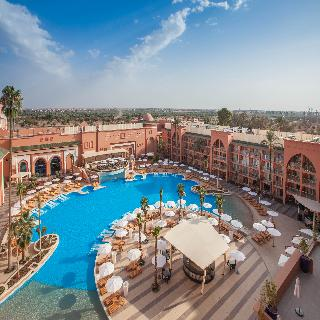 Savoy Le Grand Hotel in Marrakech, Morocco