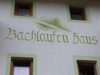 Bachlaufen Haus