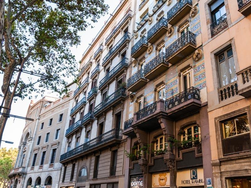 Ramblas Barcelona - Las Ramblas