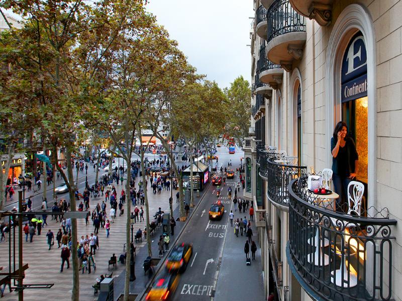 Continental Barcelona Hotel - Las Ramblas