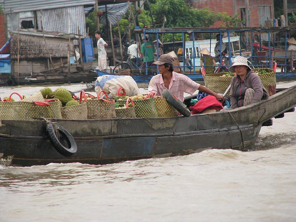 Resultado de imagem para Mercado Flutuante Cai Be