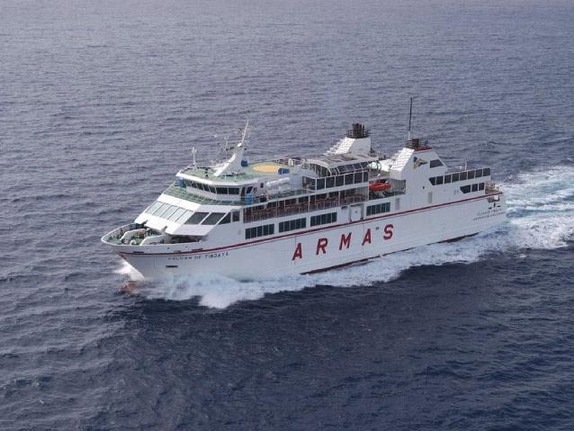 Ferry a lanzarote naviera armas guide go for Oficinas de naviera armas