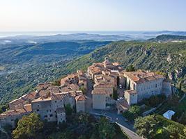 Saint Paul de Vence, Gourdon , Grasse and Cannes from Nice