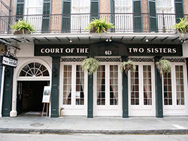 The Court of Two Sisters Restaurant