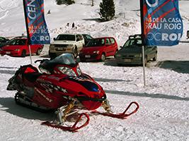 Grandvalira snowmobiles