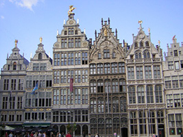 Brussels and Antwerp city tour from Amsterdam