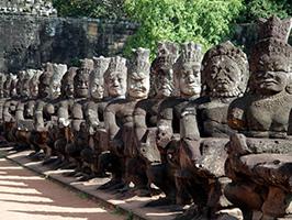 Angkor Thom complex private tour