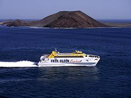 Entrada Ferry A Fuerteventura