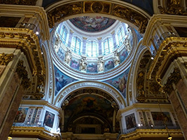 City tour, Saint Isaak Cathedral, Peter and Paul Fortress - Private