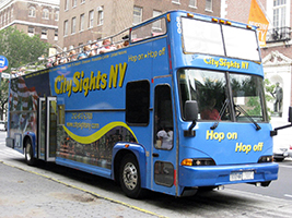 All Around Town Bus Tour + One Attraction VIP