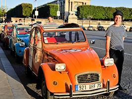 Paris by 2CV: Confidential Ride