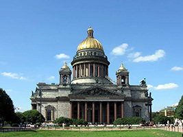 Visit to St Petersburg and St Isaak Cathedral - Private