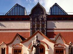 Private visit to Tretjakov Gallery