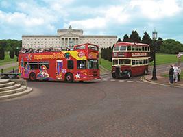 Belfast tourist bus