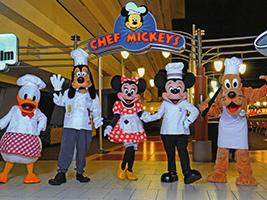 Chef Mickey's Fun Time Dinner Buffet