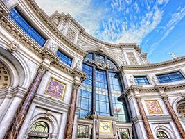 Shopping at The Forum Shops at Caesars Palace