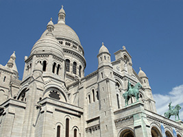 Montmartre and the Louvre