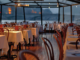 Dinner cruise Marina de Paris and Moulin Rouge Show with Pick Up from Hotel