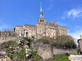 Mont Saint  Michel on your own