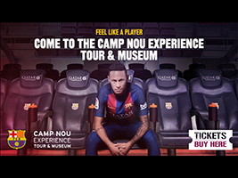 Camp Nou Experience (Museo + Tour)