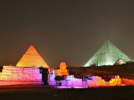 Christmas Offer: Sound & Lights at the Pyramids