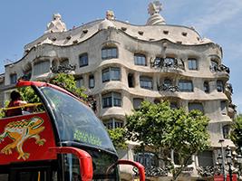 Barcelona City Tour Hop On Hop Off Bus With Wifi