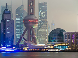 City Lights and Huangpu River Cruise