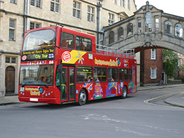 Oxford with the City Sightseeing