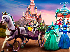 Special Discount Offer: Disneyland® Paris Express – 2 parks for the price of 1