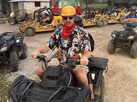 Punta Cana quad bike adventure