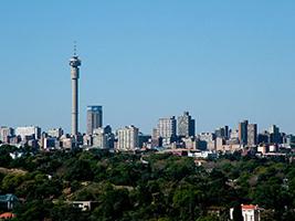 Visit the city of Johannesburg