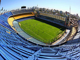 River and Boca stadiums tour