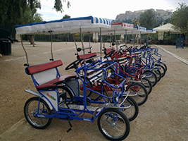 Athens and Acropolis tour by 4 wheel bike