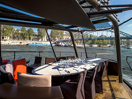 Birthday Seine Lunch Cruise with Live Music